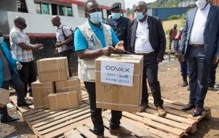 Covax: Unternehmen und Philanthropen setzen Zeichen der Solidarität
