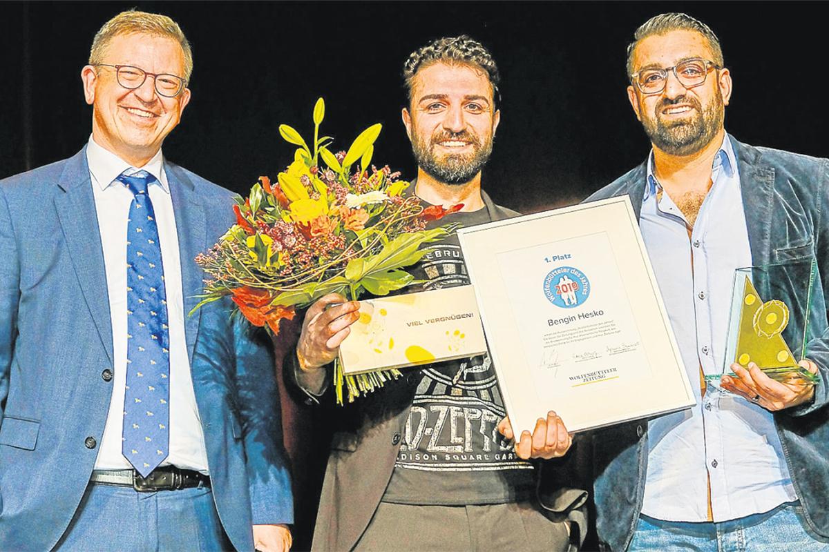 Wolfenbütteler des Jahres 2019 Bengin Hesko